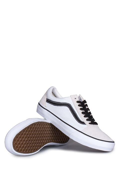 Vans Skool Blackl White Jual Vans Oldskool vans skool pro 50th 92 white black bonkers shop