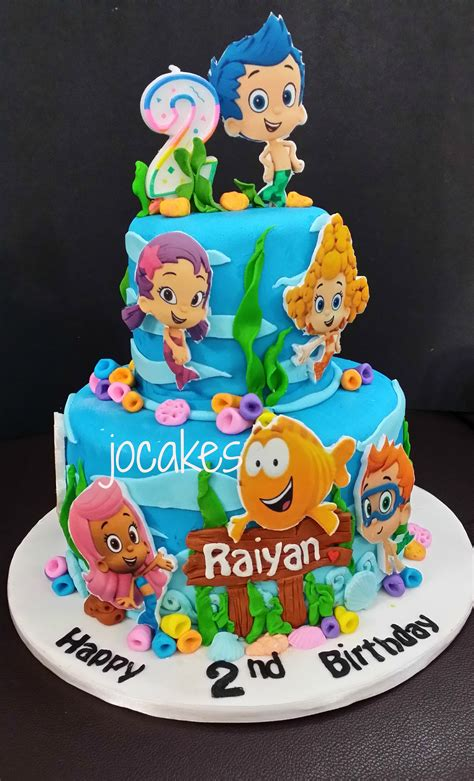 bubble guppies cake jocakes