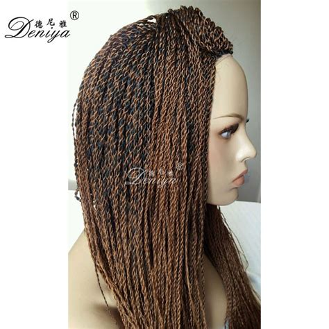 micro braids ombre hair cheap micro braiding hand made ombre lace front senegalese