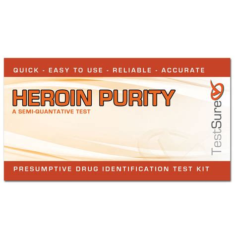 purity test heroin purity test kit test the purity of a heroin