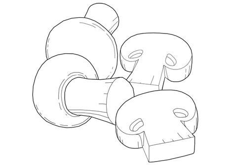 imagenes de hongos faciles para dibujar coloriage chignons 224 imprimer