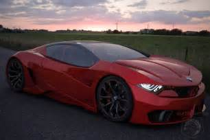 bmw sport car concept study by iranian designer emil