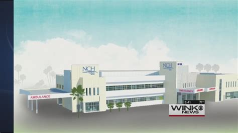 nch breaks ground on new naples facility wink news