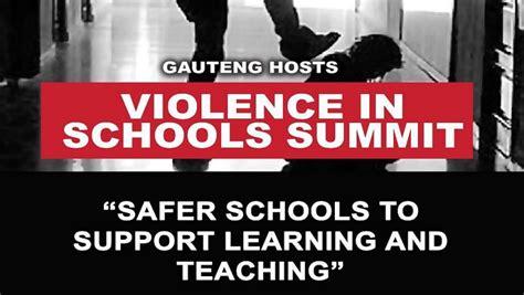 summit  highlight safety  sa schools sabc news