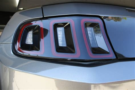 2013 mustang tail lights how to converting a 10 12 mustang rear to 13 14 spec