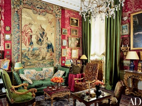Tapestry Home Decor jacques garcia conjures an atmosphere of opulence and
