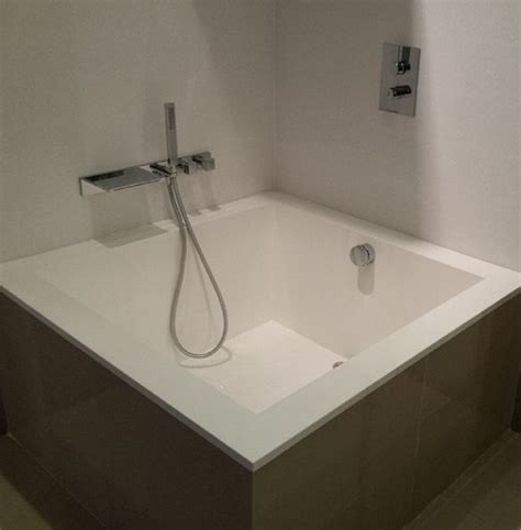 square bathtub square lounge bath japanese style bath on display at