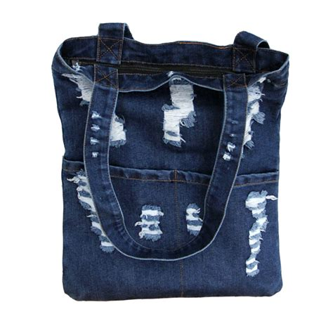 Target Basic Denim Canvas Tote by Canvas Bag Denim Tote Large Capacity Brief