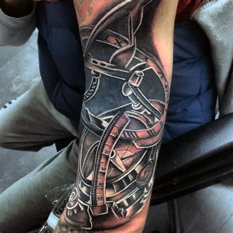 shovel tattoo 100 nautical tattoos for slick seafaring design ideas