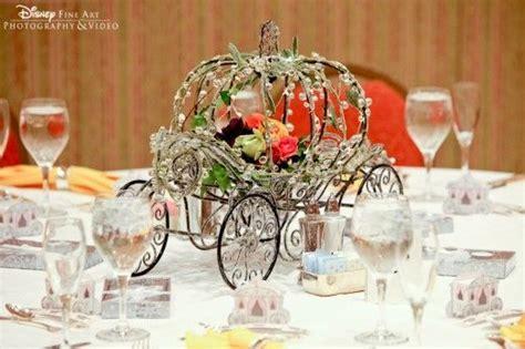 Cinderella's Coach wedding centerpieces   Wedding Planning