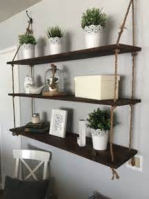 floating shelves decor best 25 hanging shelves ideas on wall hanging