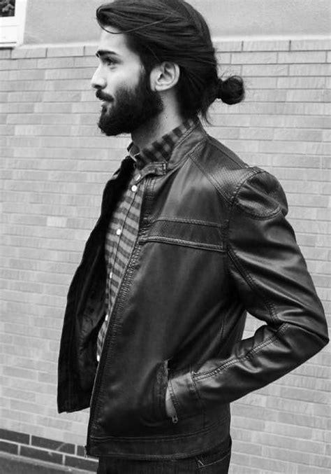 samurai hairstyles  men modern masculine man buns