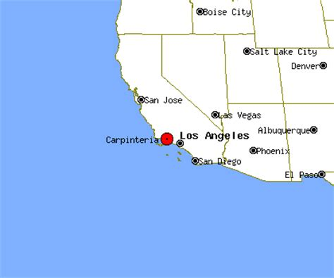 carpinteria california map free pictures of the california coast and picture viewer