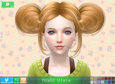 child bob haircut sims 4 yu100 ulala hair child free at newsea sims 4 187 sims 4