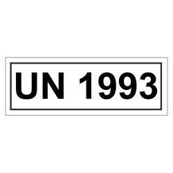 Un Aufkleber Bestellen by Un Verpackungskennzeichen 14 X 5 5 Cm Mit Un 1993