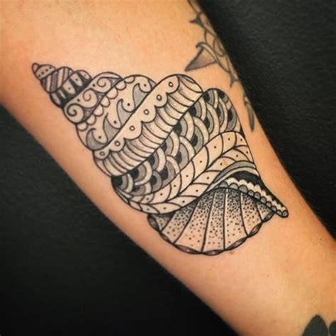 conch shell tattoo designs best 25 conch shell tattoos ideas on sea