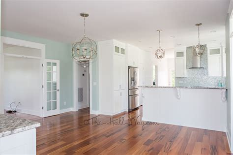 Painted Kitchen Cabinet Images Eastover Cottage The Kitchen The Hall Way