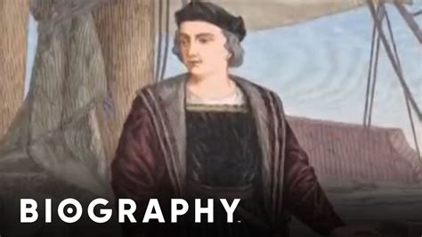 christopher columbus brief biography christopher columbus mini biography youtube