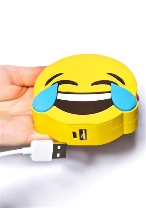 Power Bank Emoji wattzup laughing emoji power bank dolls kill