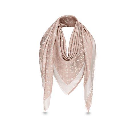 monogram denim shawl accessories louis vuitton