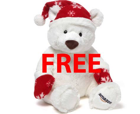 Convert Walmart Gift Card To Amazon - free holiday teddy bear from amazon ca when you buy gift card hot hurry