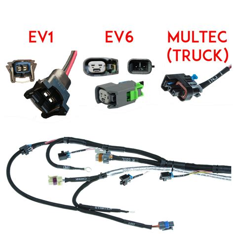 efi wiring harnesses for gm mercedes wiring harnesses