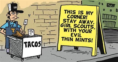 la cucaracha vs the books la cucaracha taco vs the scouts pocho