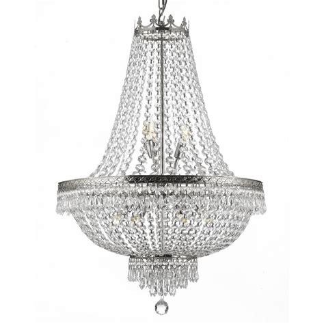 kronleuchter depot empire 9 light silver chandelier t40 226 the