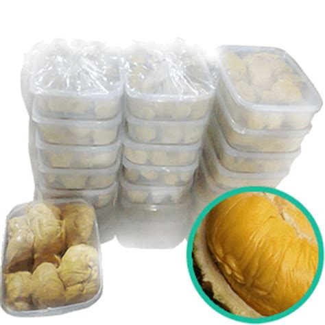 Durian Kupas Asli Sidikalang durian kupas medan manis non pengawet ucok durian