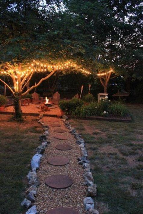 beautiful backyard tree lighting ideas that will fascinate you