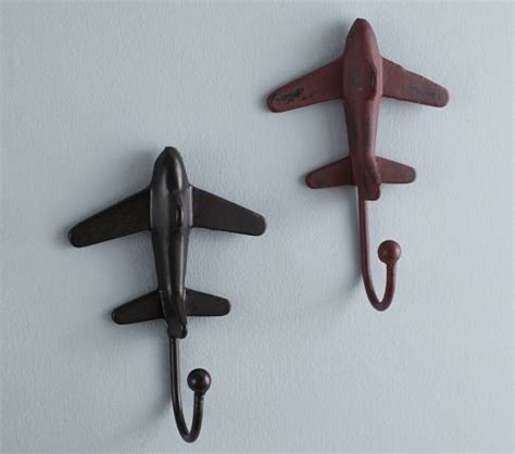 airplane wall hooks kid s room