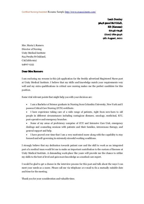 Inquiry Letter For Nurses 25 Best Ideas About Nursing Cover Letter On