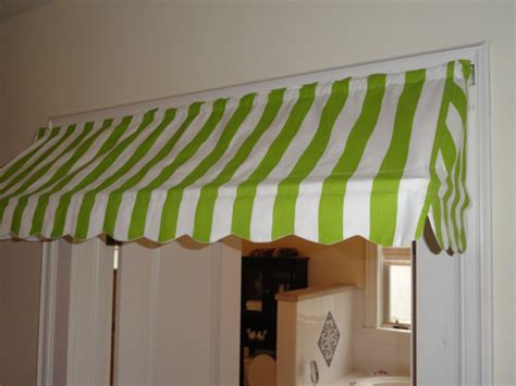 Indoor Awning Valance by 14 1 2 High And 18 To 70 Wide Custom Made Indoor