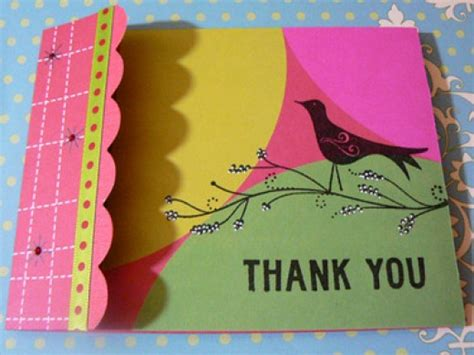 Ideas For Handmade Thank You Cards - ehejojinud thank you card ideas for