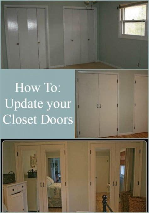 diy closet door update how to update your old bi fold diy furniture how to update your bi folding closet doors