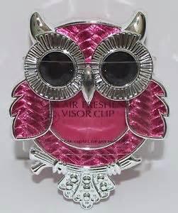 Bath And Works Owl Car Air Freshener New Bath Works Pink Owl Scentportable Holder Visor