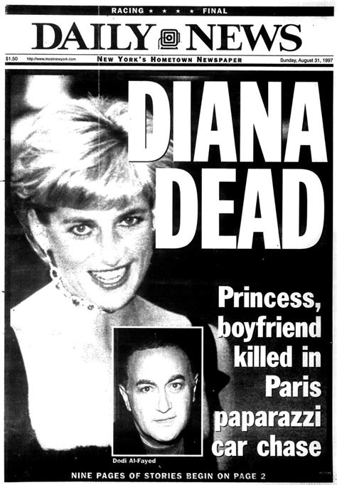 princess diana pictures videos breaking news princess diana dies at 36 in a high speed car crash in
