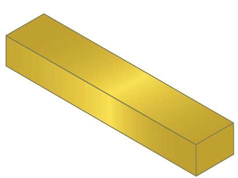 G 06r Gaia Finish Master R mak a key key stock 1 4 x 1 x 1 ft 3600 brass bilateral