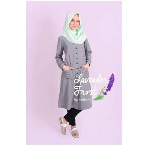 Velin Dress grosir baju muslim velin tunik grosir baju muslim