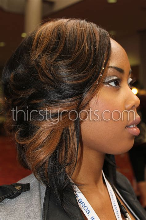 black women layers and color forget the hair style although it is cute that hair