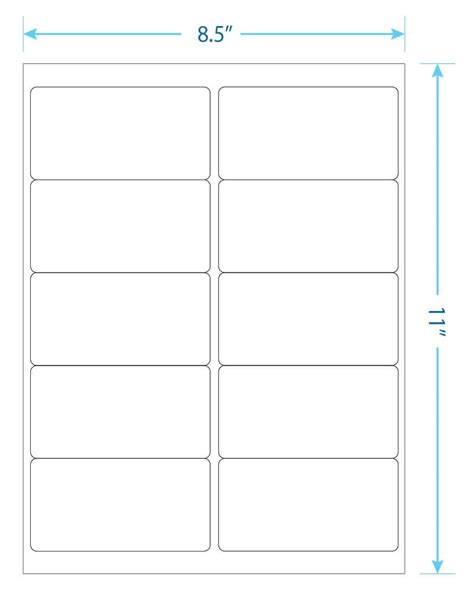 10 Up Label Template 10 up label template templates data