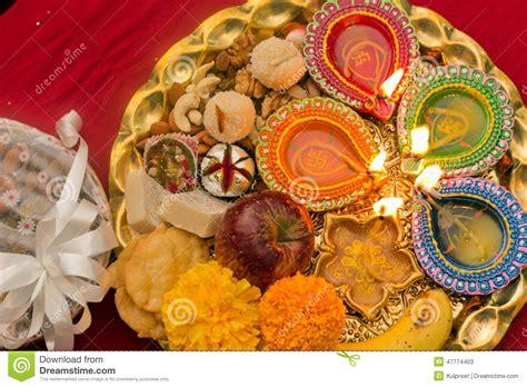 diwali decorating at home raw ayurveda decorated diwali tray stock image image of festival