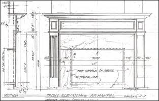 Fireplace Plans woodworking furthermore 23 on building plans for fireplace surround