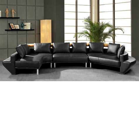 Jupiter Sectional Sofa by Dreamfurniture Mars Ultra Modern Black Leather Sectional Sofa Jupiter Like