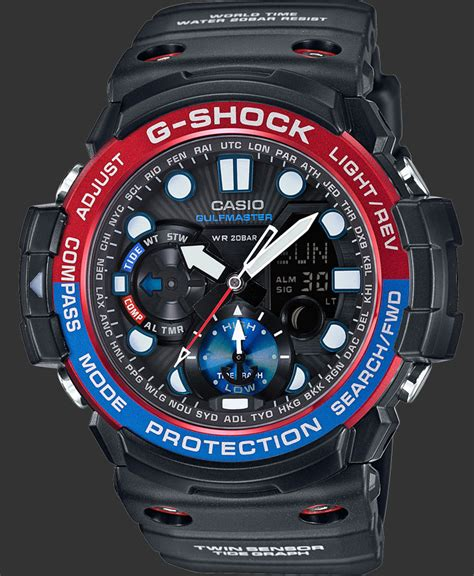 G Shock Gpg 1000 Black g shock watches premium