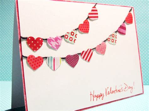 Handmade Valentines Day Cards - handmade thursday valentines day card tutorials