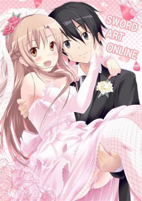 Ordinal Attack 09 sword s kirito x asuna wedding anime