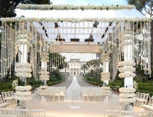 floral gazebo for romantic white wedding prestonbailey com