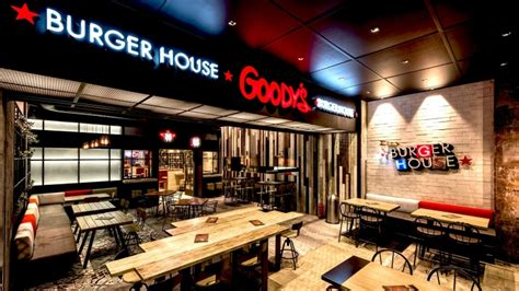 burger house goody s burger house by chadios associates patras greece 187 retail design blog