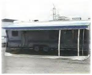 hauler add a wall room rv screen awning for trailer